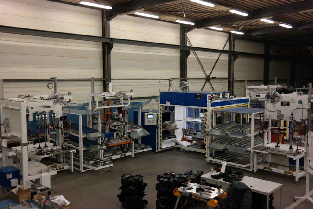AdBlue assembly line